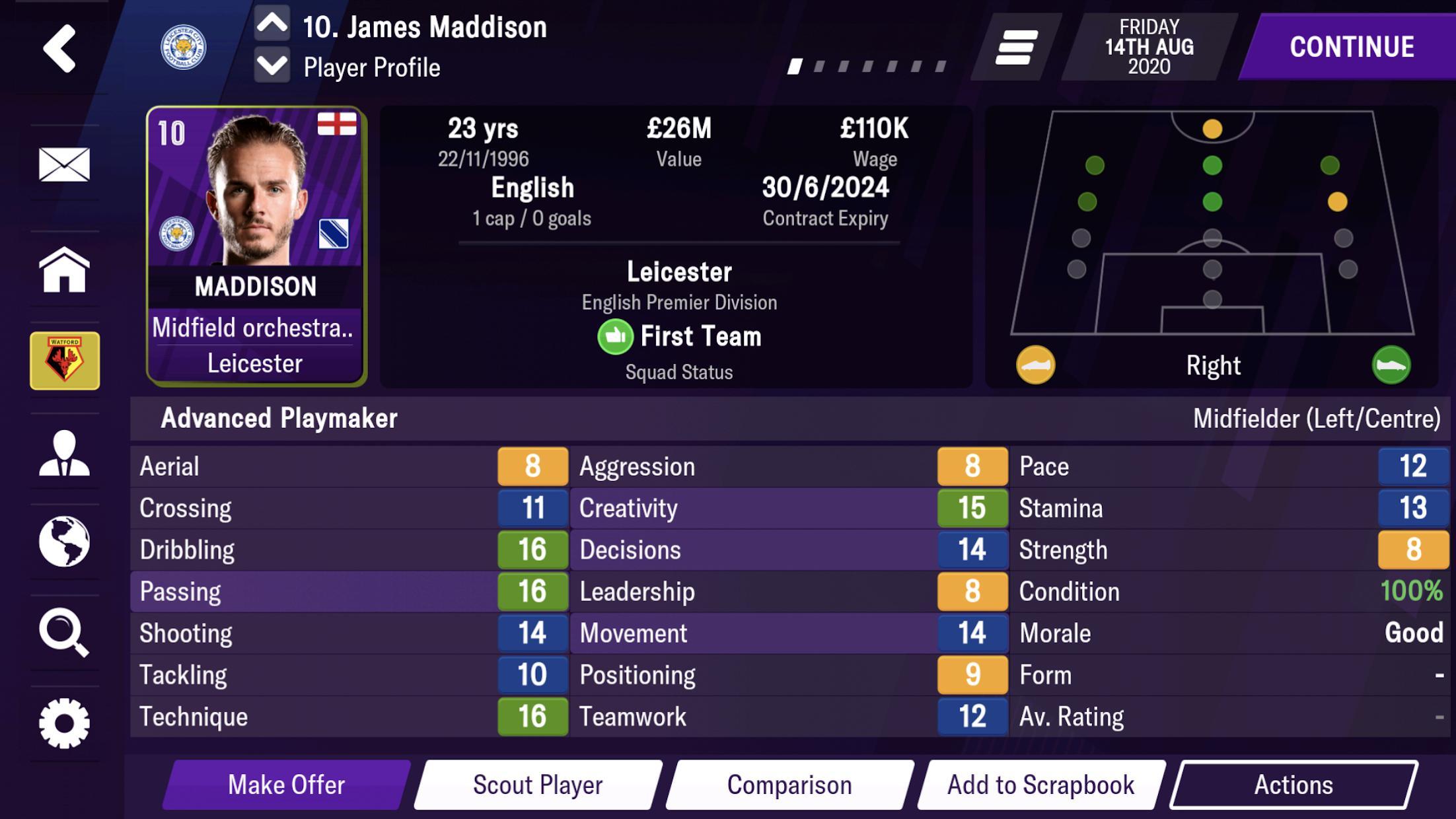 足球经理2021 游戏截图1