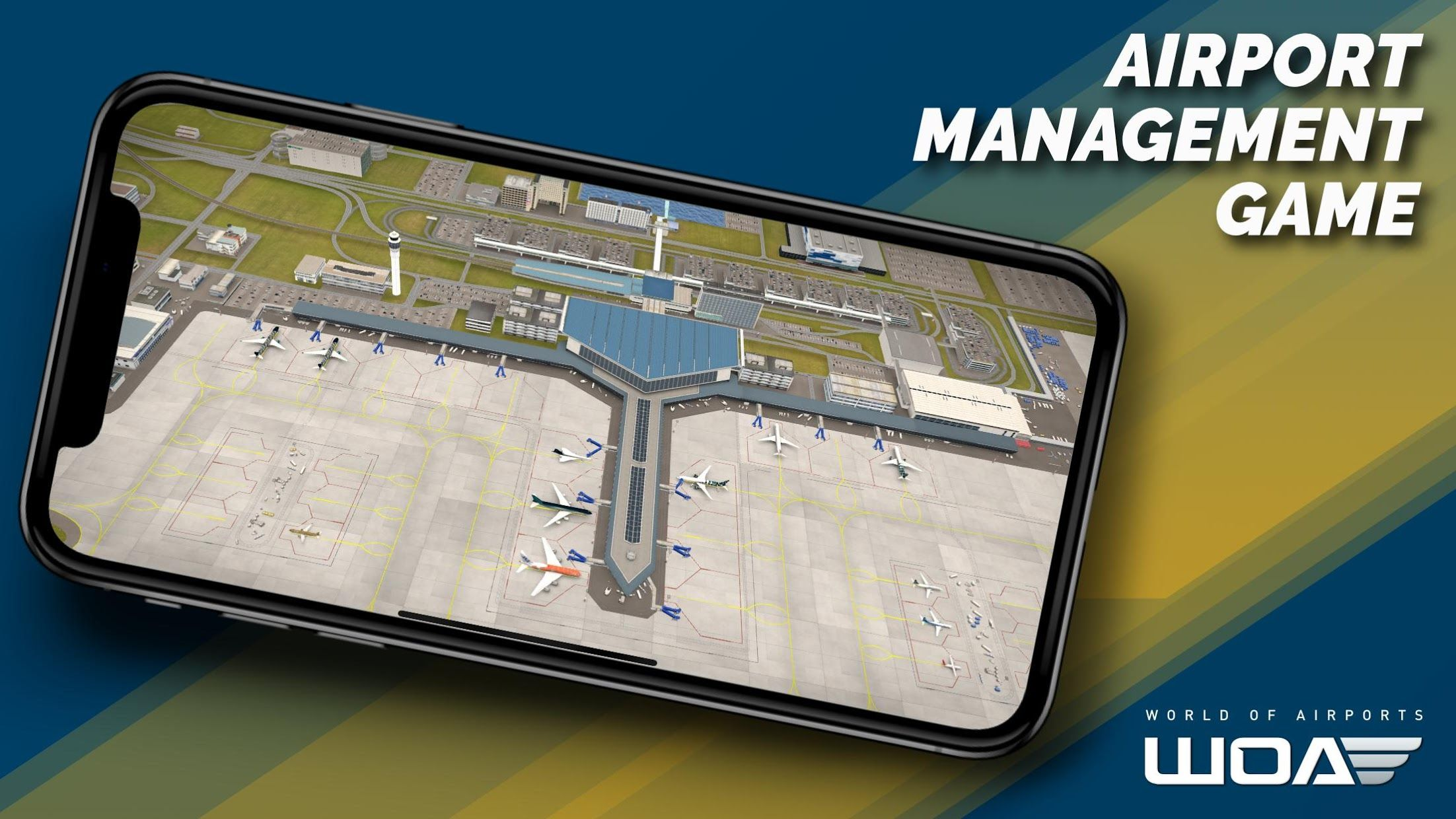 World of Airports 游戏截图1