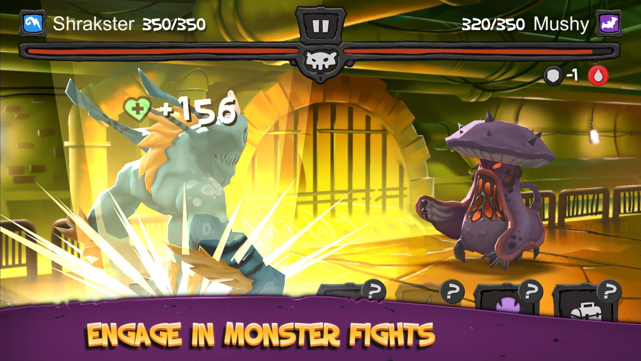 怪物巴斯特:入侵世界 游戏截图1