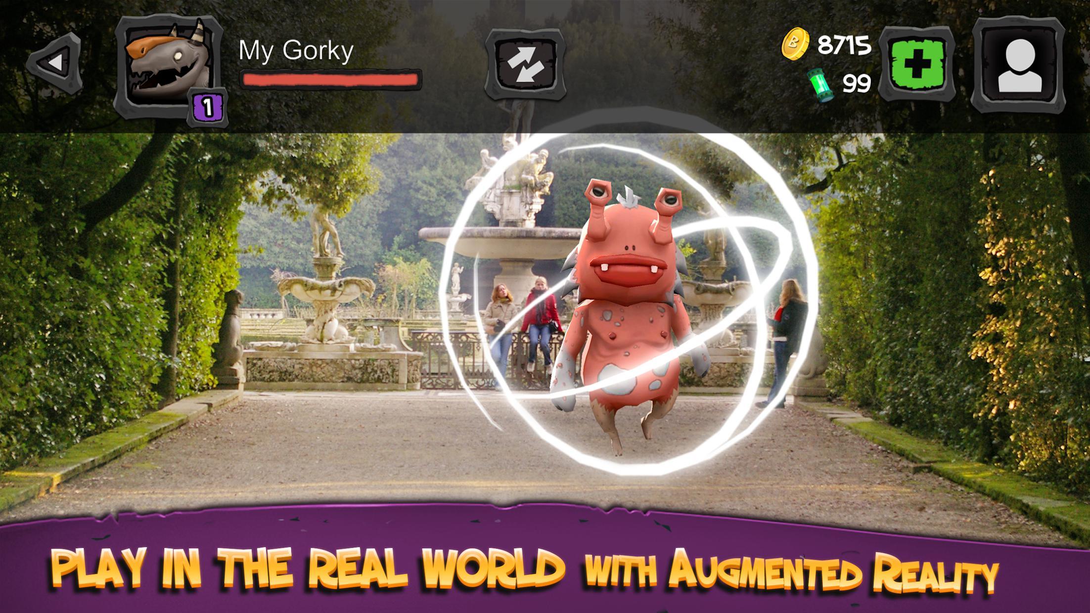 怪物巴斯特:入侵世界 游戏截图2