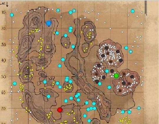 方舟孤岛10个神器坐标位置在哪里?详解10个神器坐标位置
