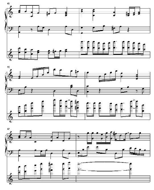 偶像梦幻祭钢琴谱