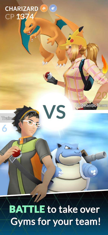 Pokémon GO 游戏截图4