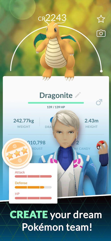 Pokémon GO 游戏截图5