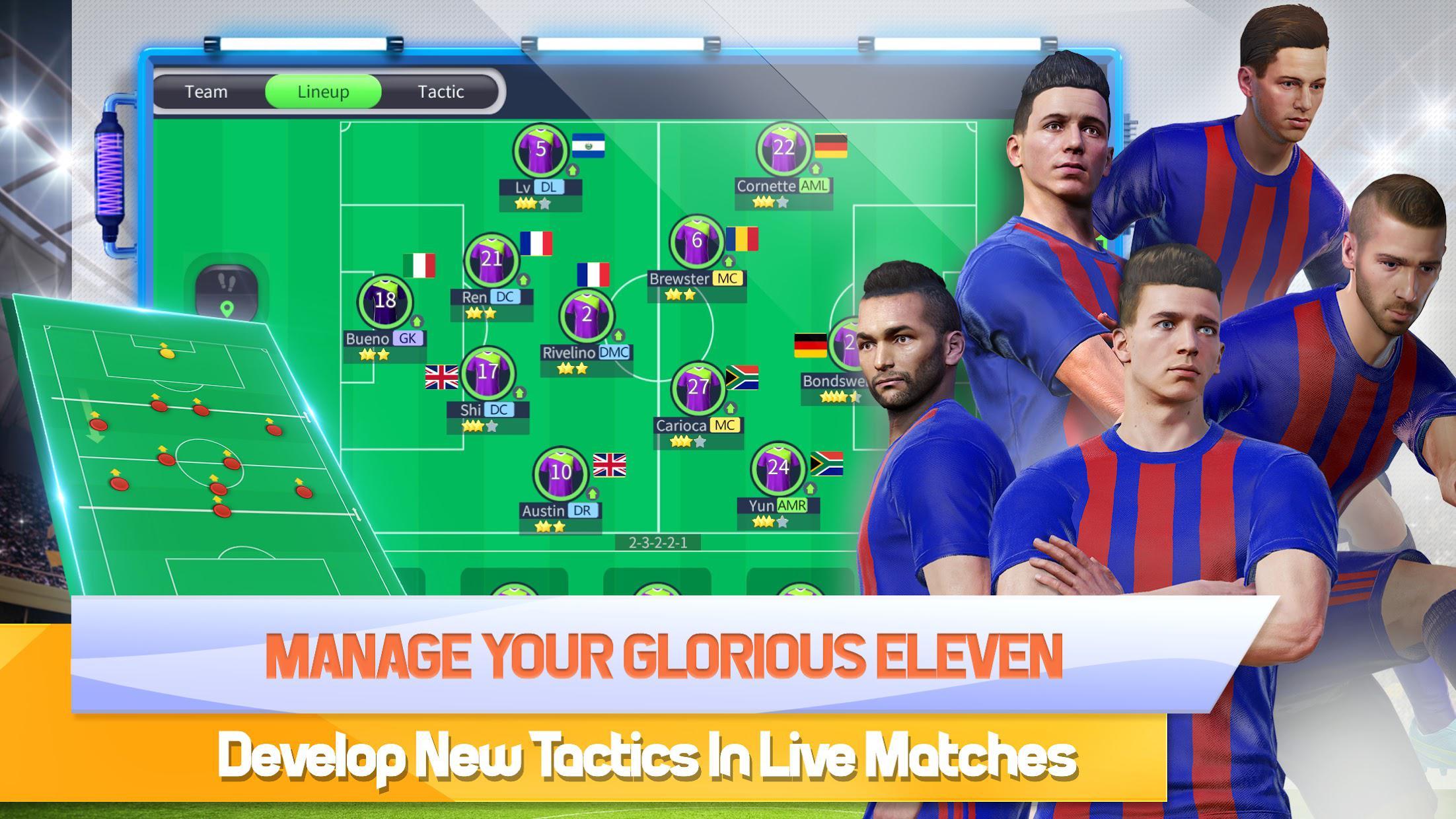 Glorious Eleven - 足球经理 游戏截图2