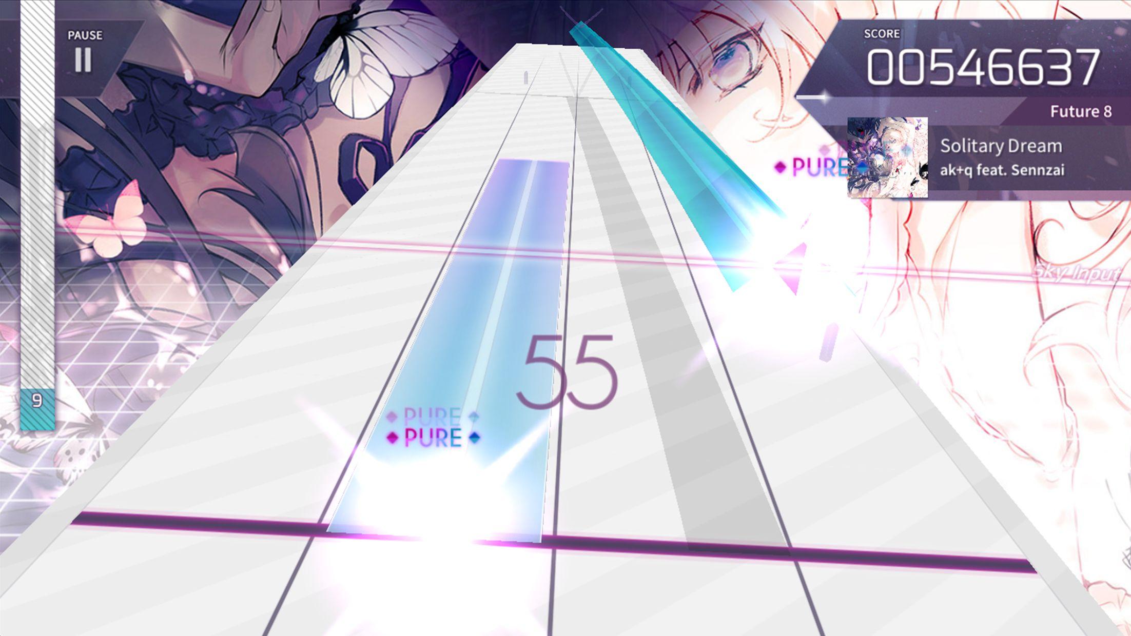 Arcaea – 创新立体节奏游戏 游戏截图4