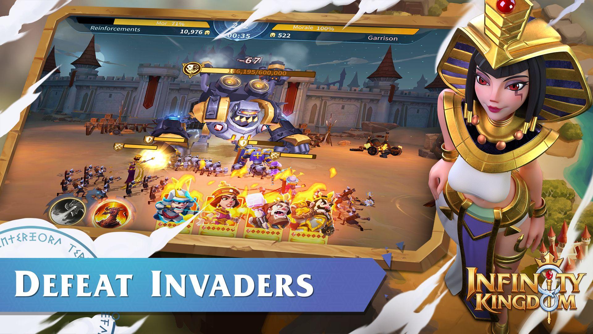 Infinity Kingdom 游戏截图2