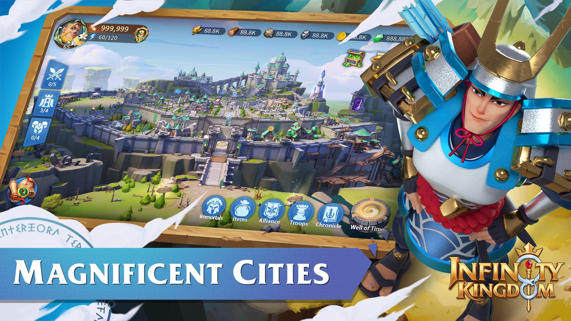 Infinity Kingdom 游戏截图4