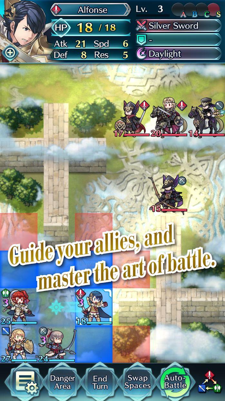 火焰纹章:英雄 游戏截图3