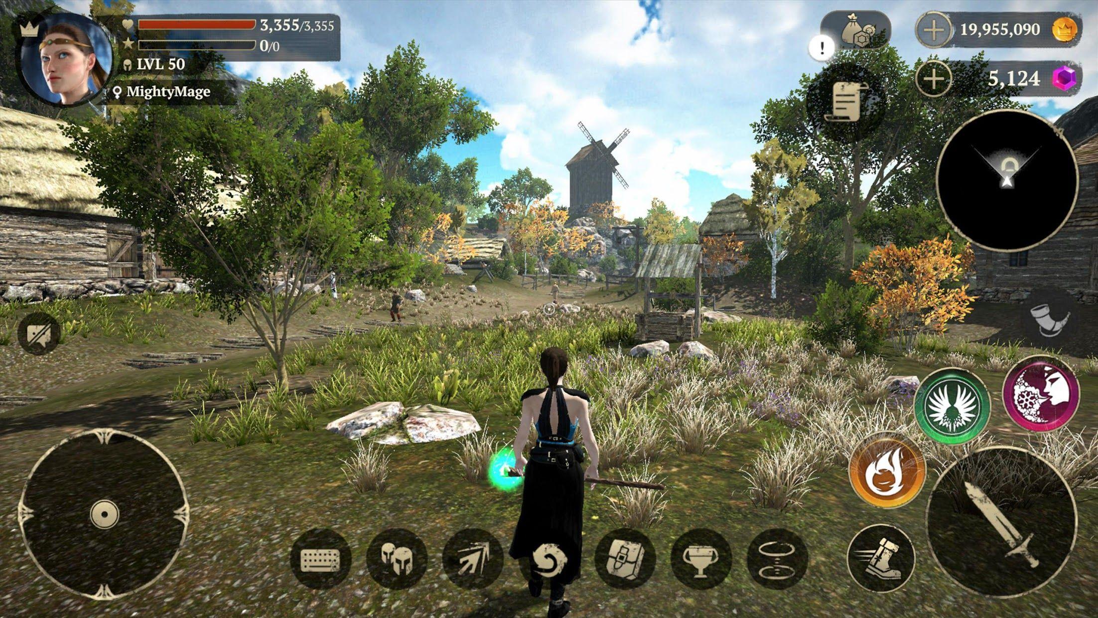 Evil Lands: Online Action RPG 游戏截图1