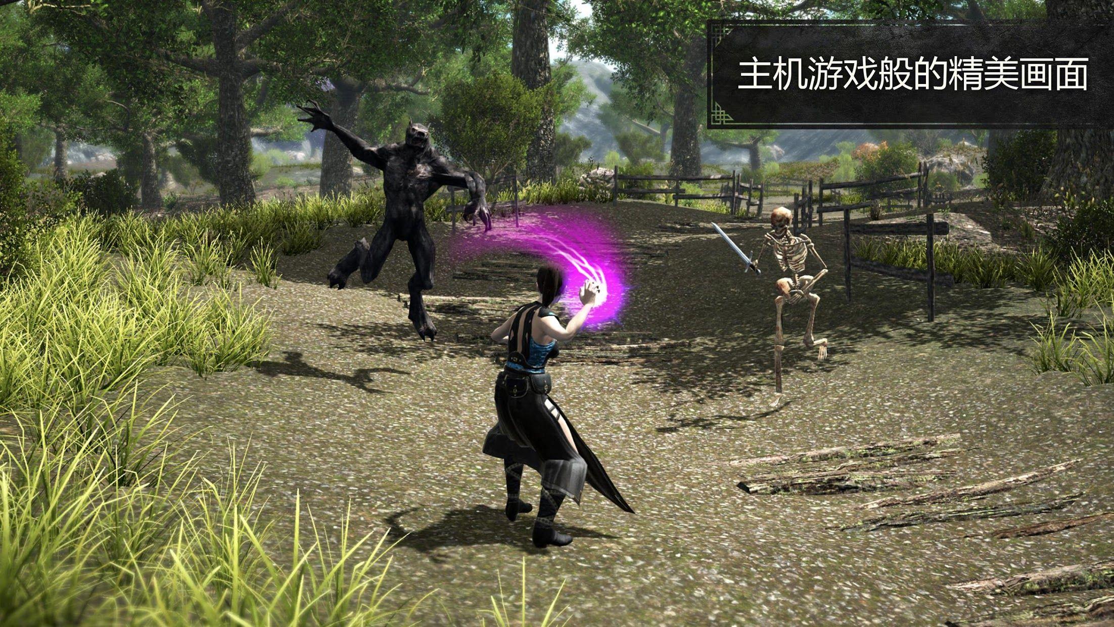 Evil Lands: Online Action RPG 游戏截图2