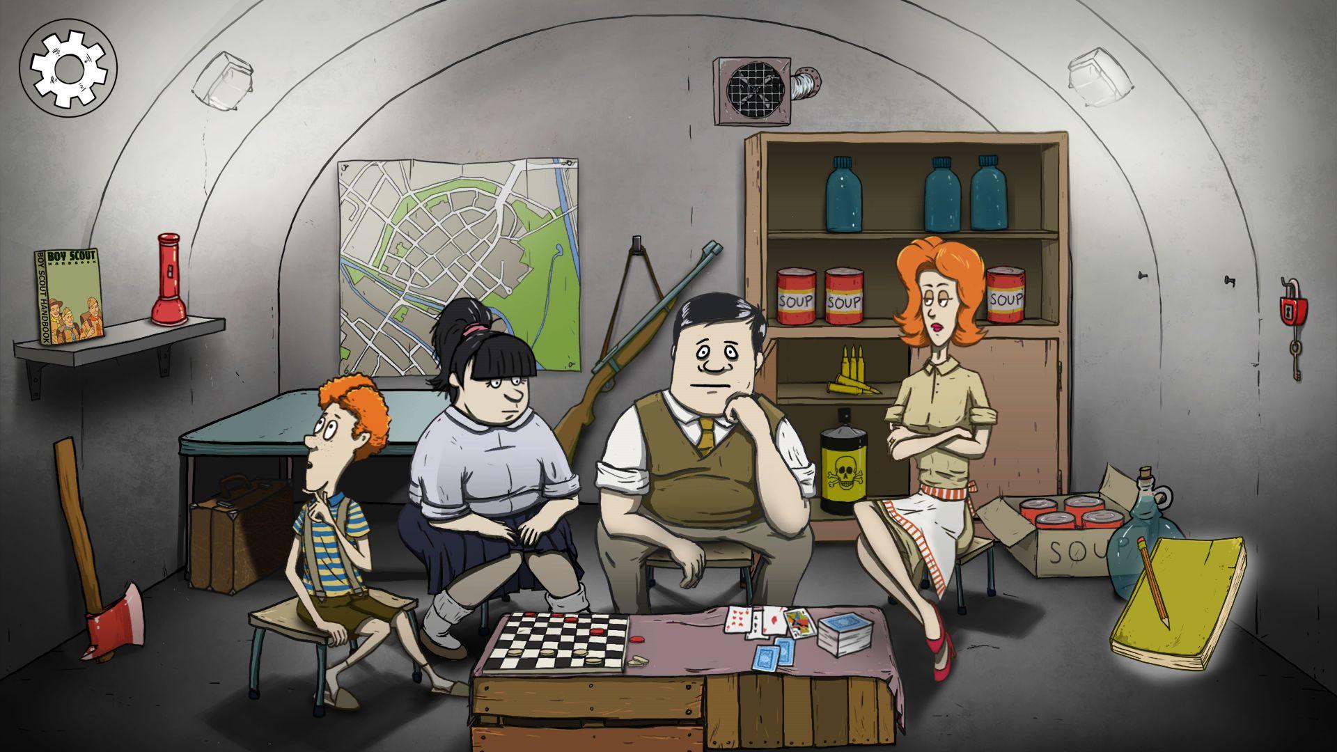 避难所:生存(60秒核弹危机) 游戏截图1