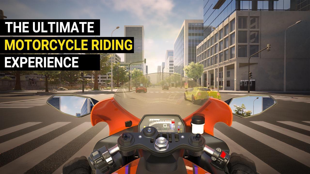 真实公路摩托锦标赛 游戏截图1
