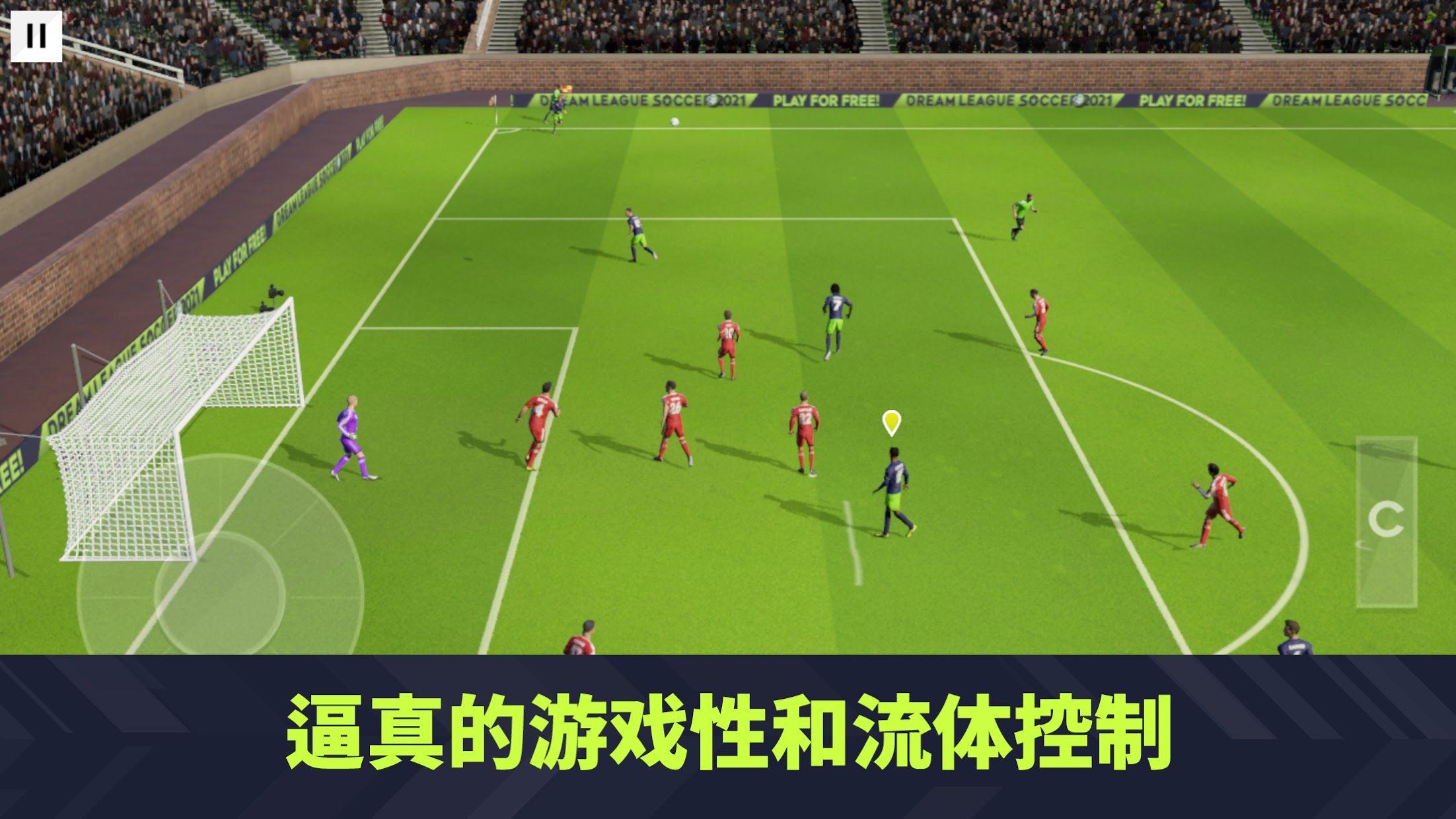 Dream League Soccer 2021 游戏截图2