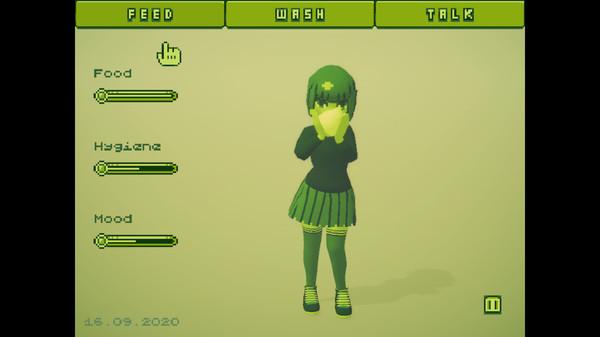 电子女孩 游戏截图1