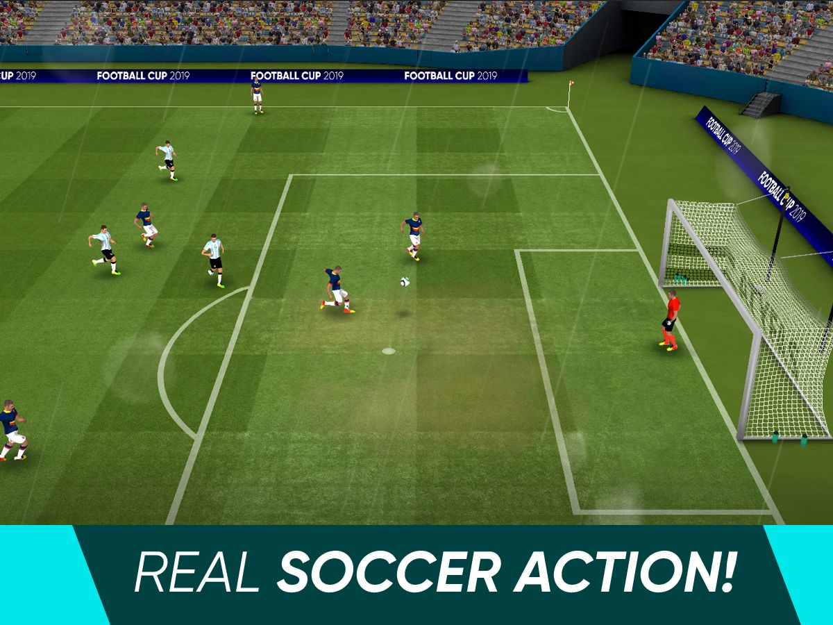 Soccer Cup 2021: Free Real League of Sports Games 游戏截图1