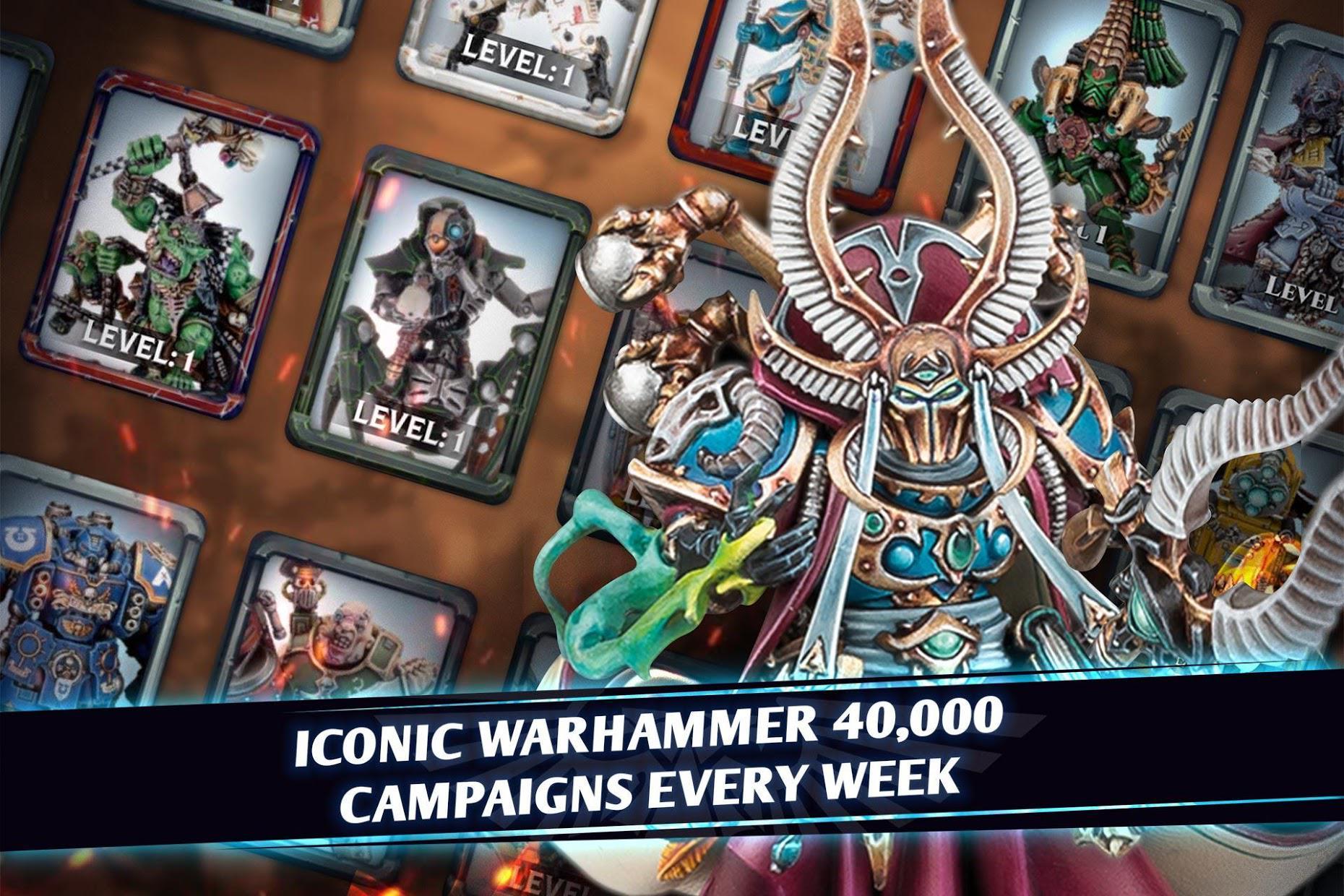 战锤40K战斗卡牌手游 游戏截图2