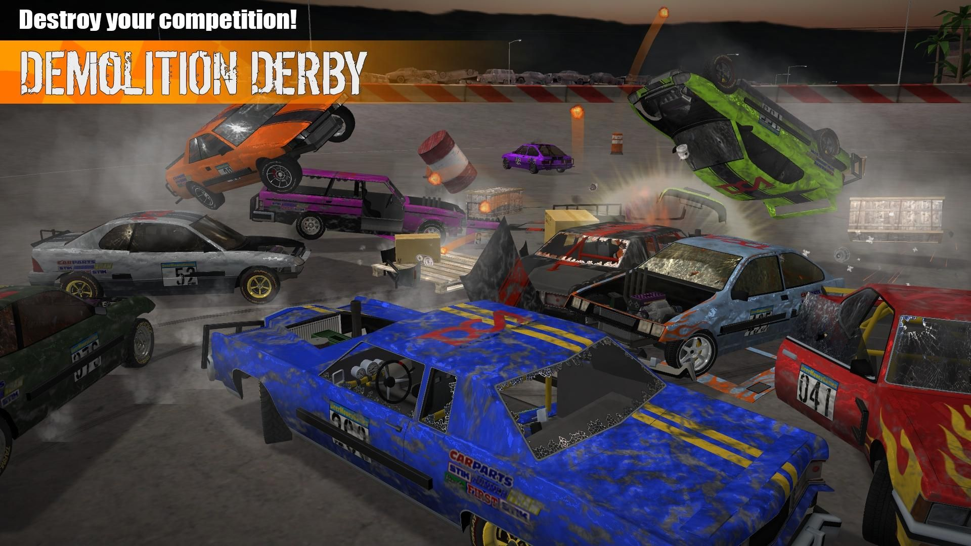 Demolition Derby 3 游戏截图2