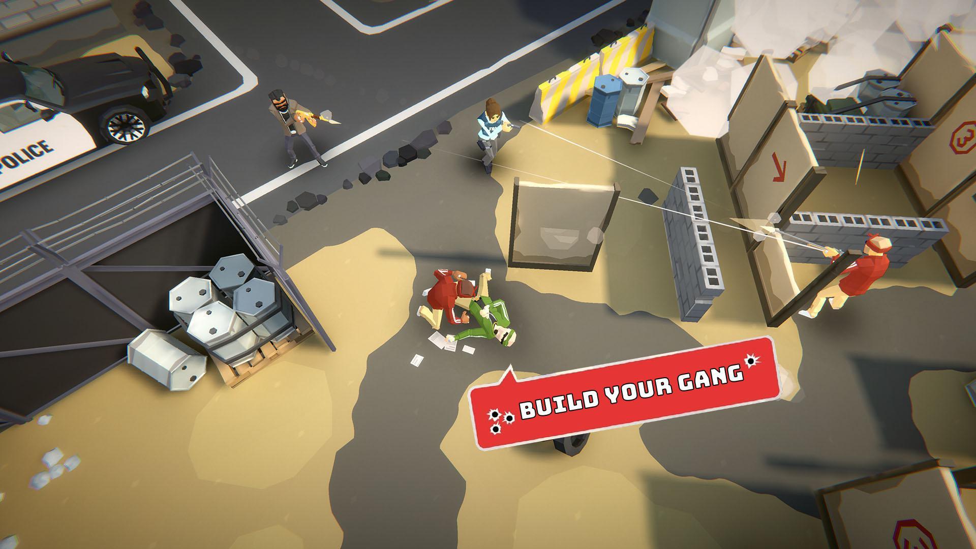 Gang Up: Street Wars 游戏截图3