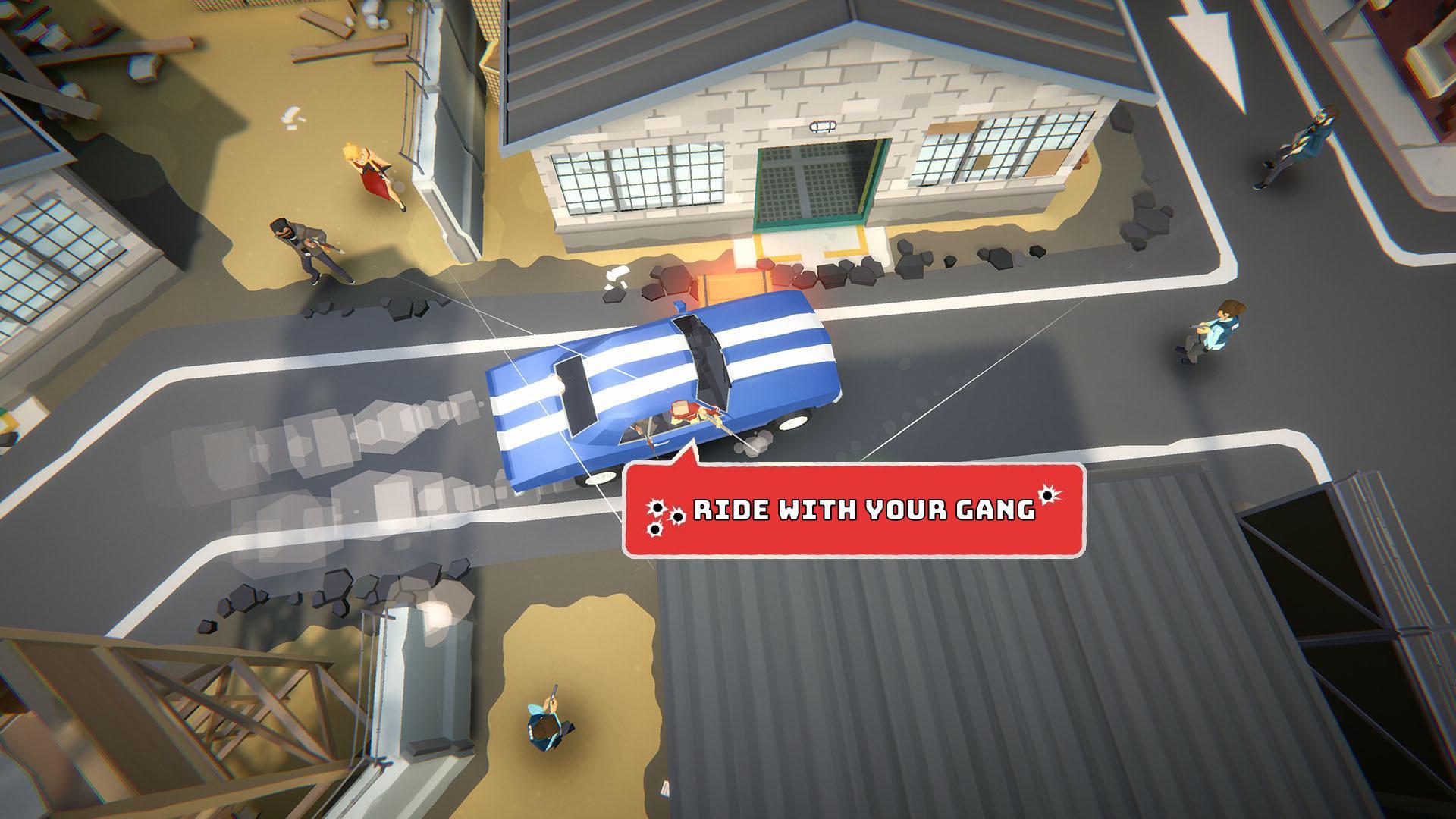 Gang Up: Street Wars 游戏截图4