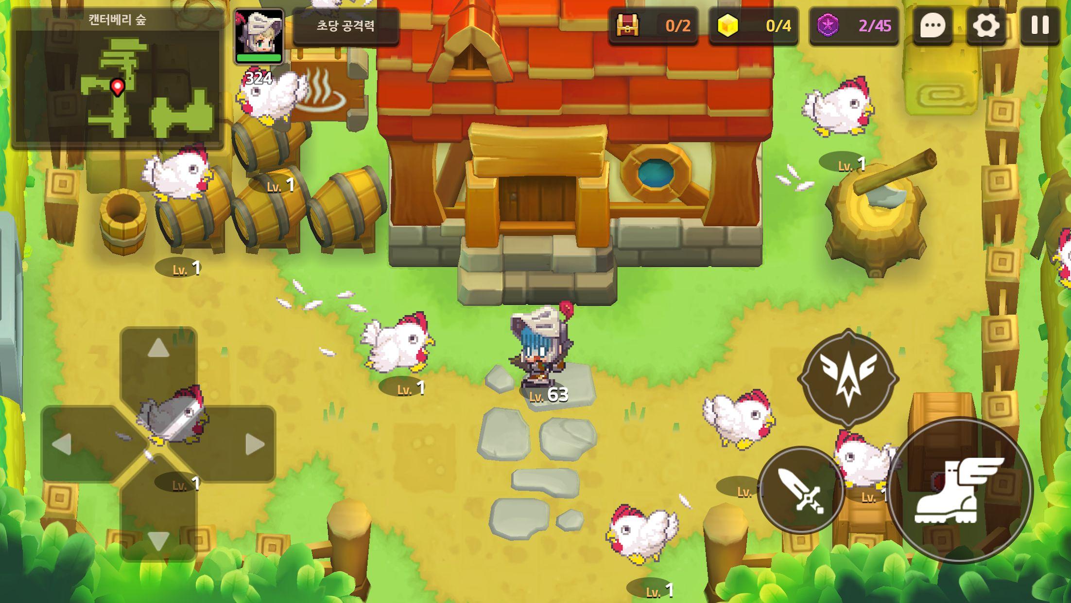 坎特伯雷公主与骑士唤醒冠军之剑的奇幻冒险(韩服 守护者传说) 游戏截图5