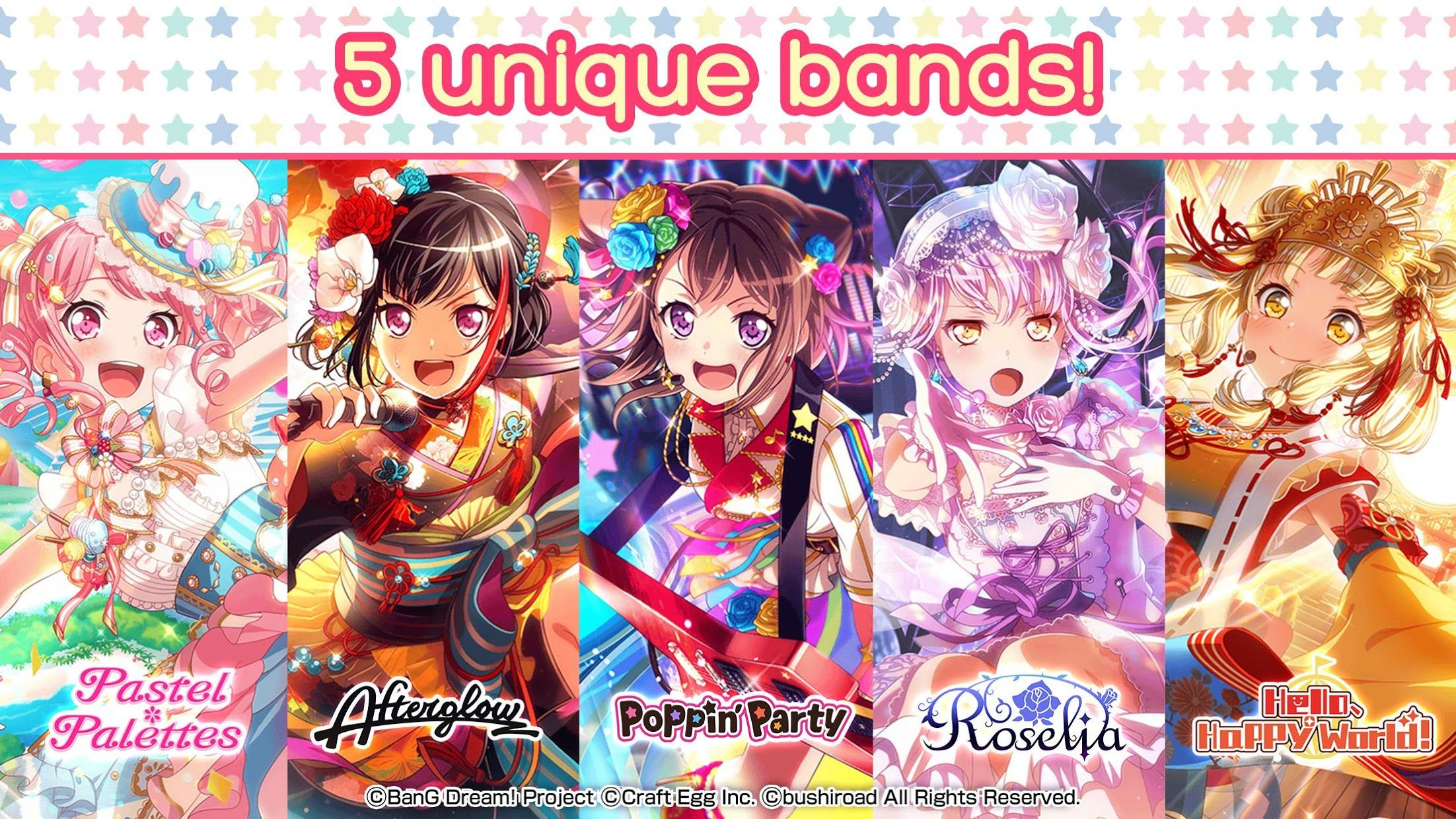 BanG Dream!少女乐团派对!(国际服) 游戏截图2