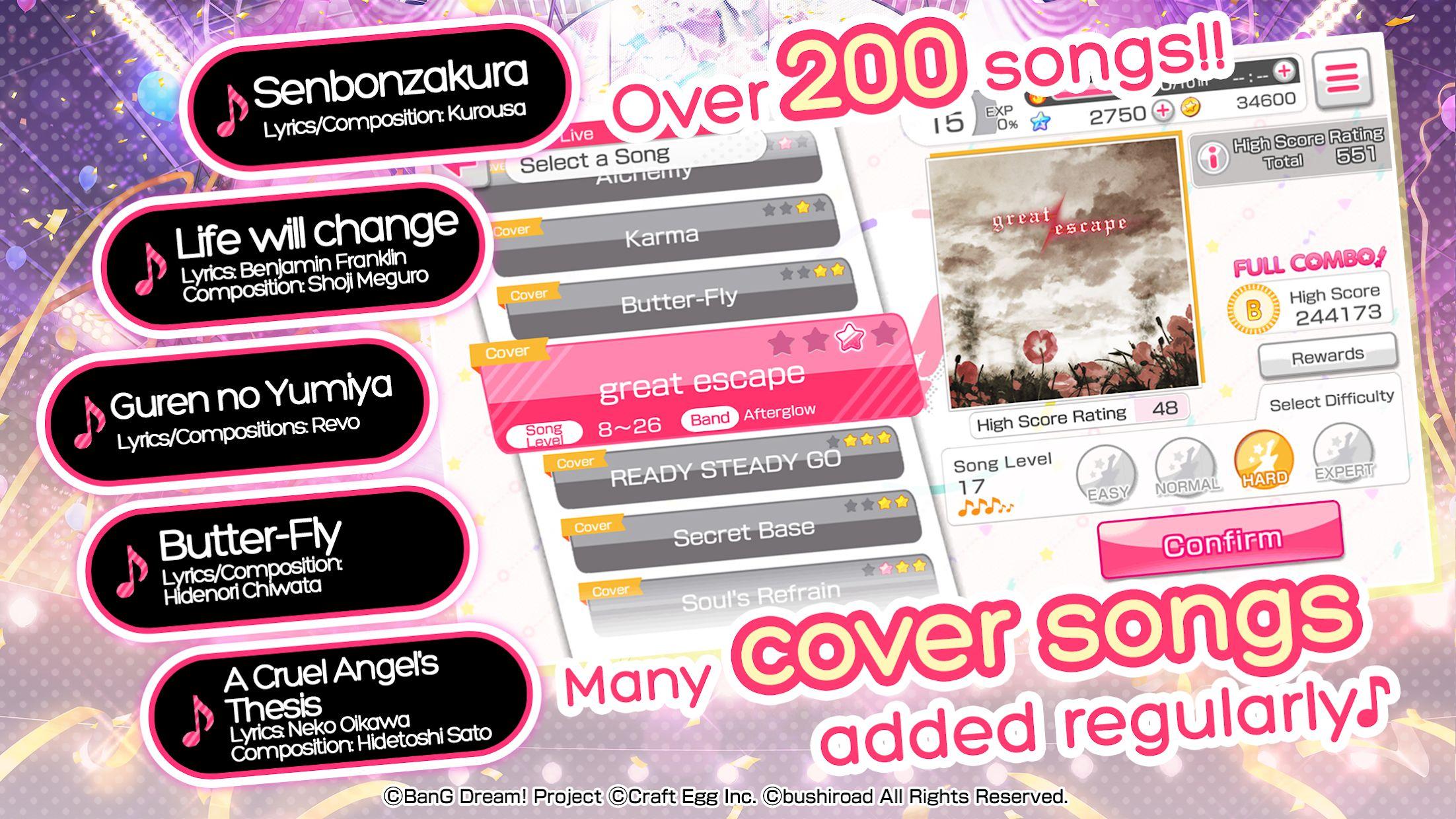BanG Dream!少女乐团派对!(国际服) 游戏截图3