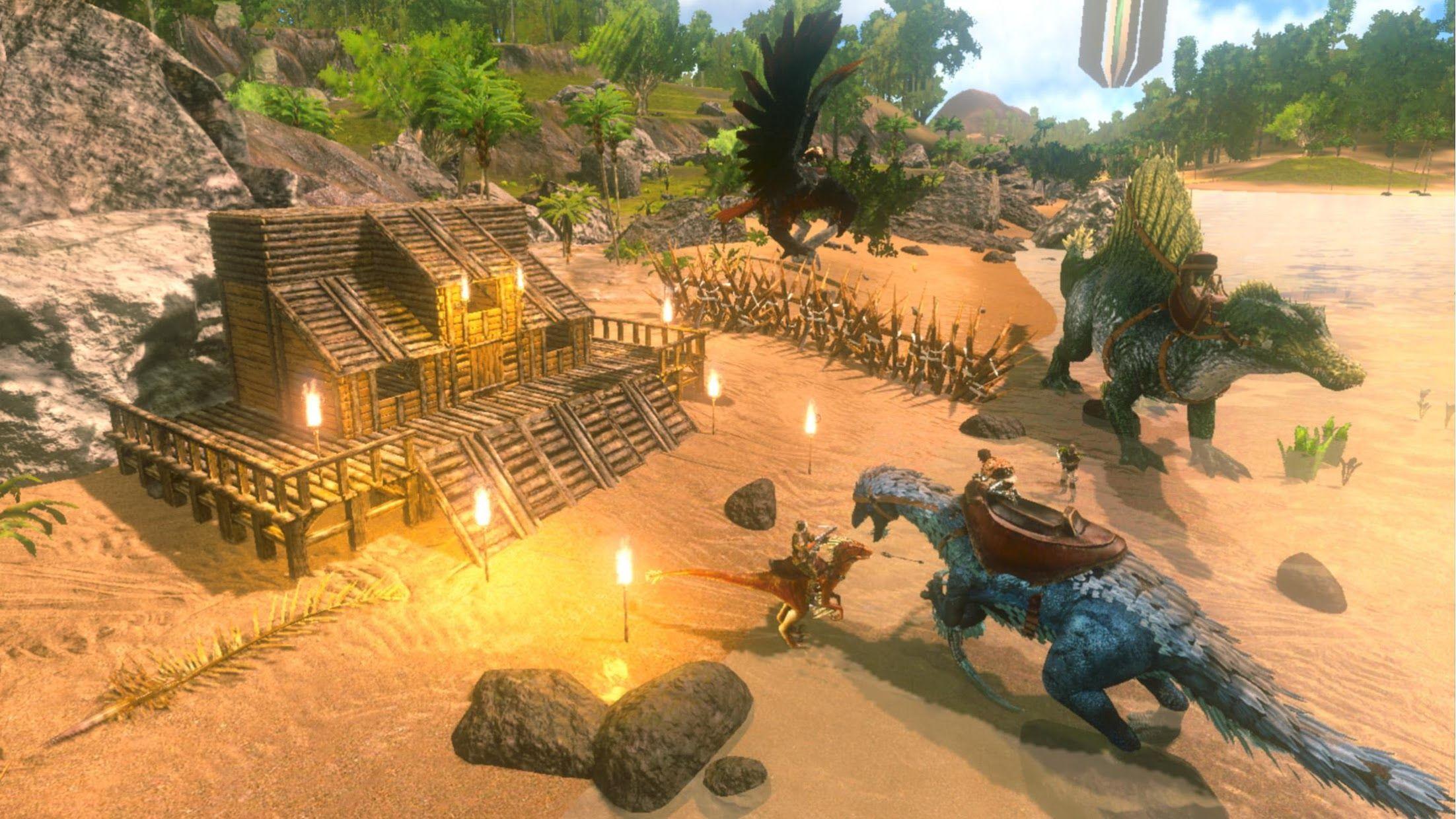 方舟:生存进化 游戏截图1