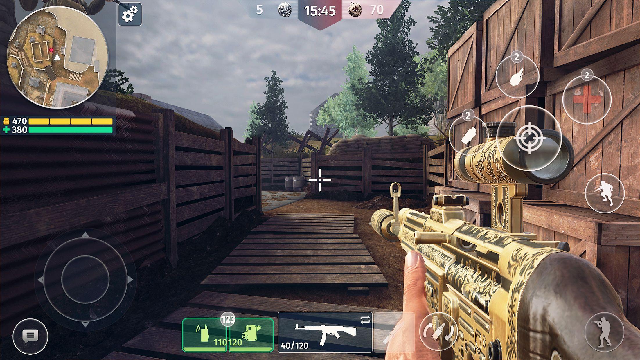 World War 2 - Battle Combat (Online FPS 游戏) 游戏截图2