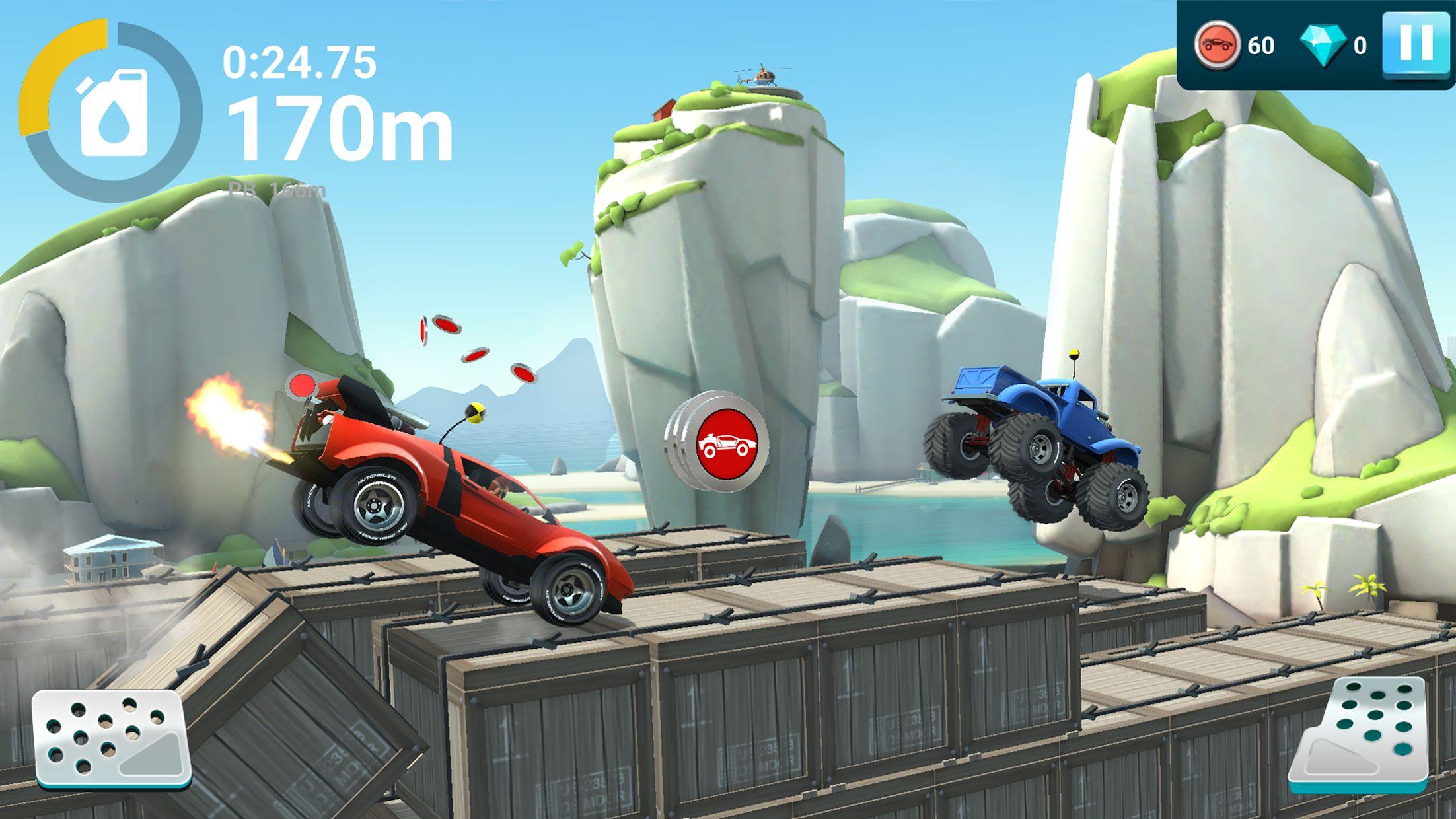 MMX 坡道狂飙 2 – 越野卡车、汽车和机车赛车 游戏截图4