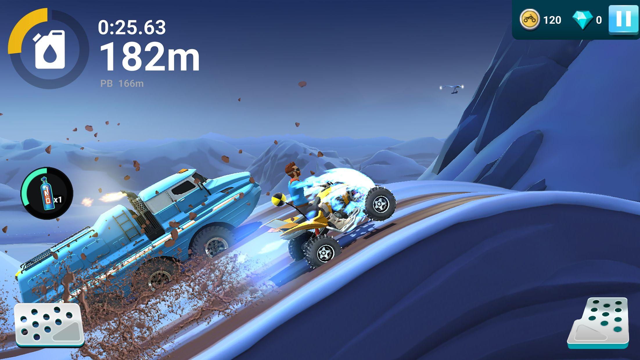 MMX 坡道狂飙 2 – 越野卡车、汽车和机车赛车 游戏截图5