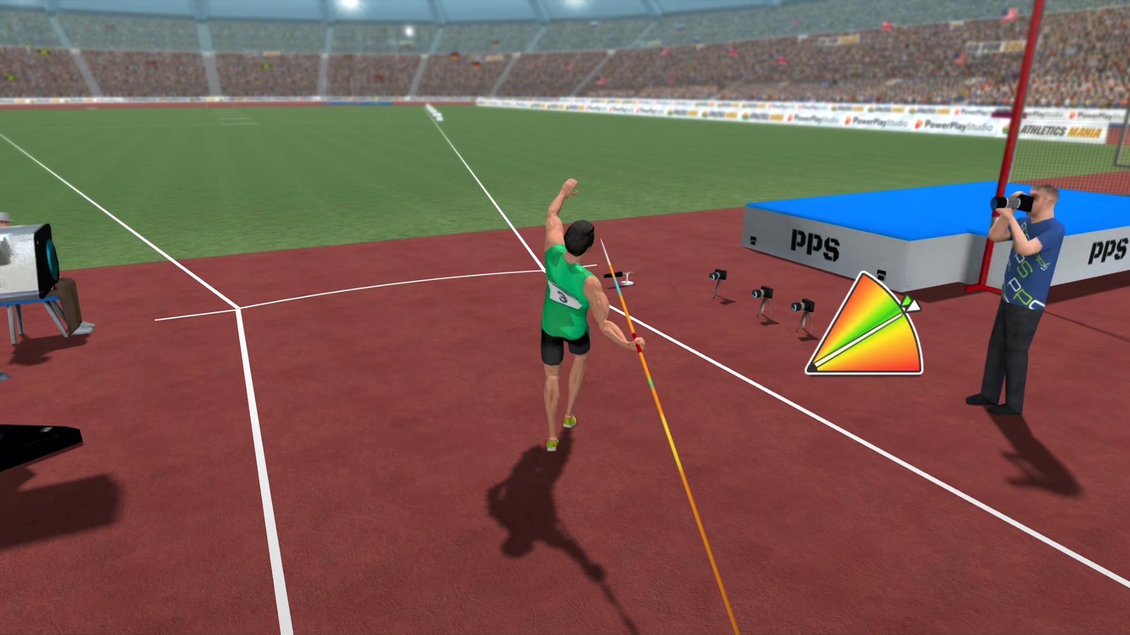 Athletics Mania: Track & Field Summer Sports Game 游戏截图3