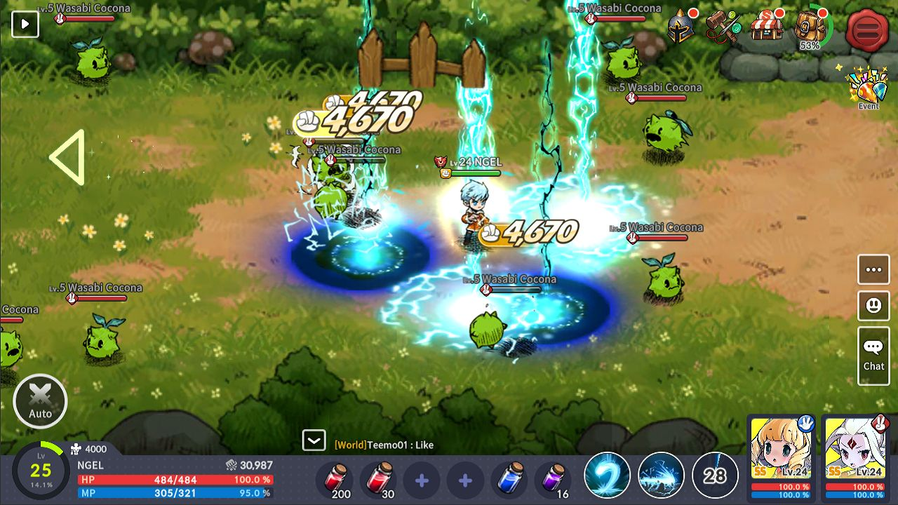 Devil Book: Hand-Drawn Action MMO 游戏截图3