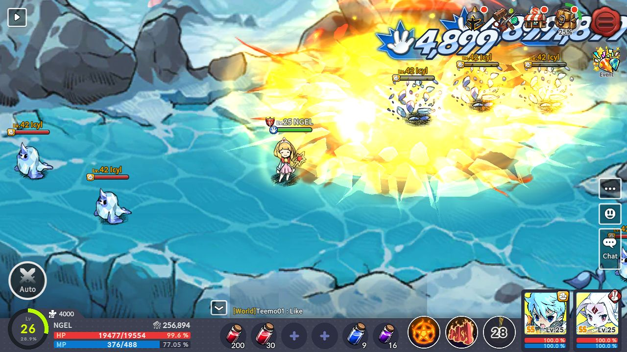 Devil Book: Hand-Drawn Action MMO 游戏截图4