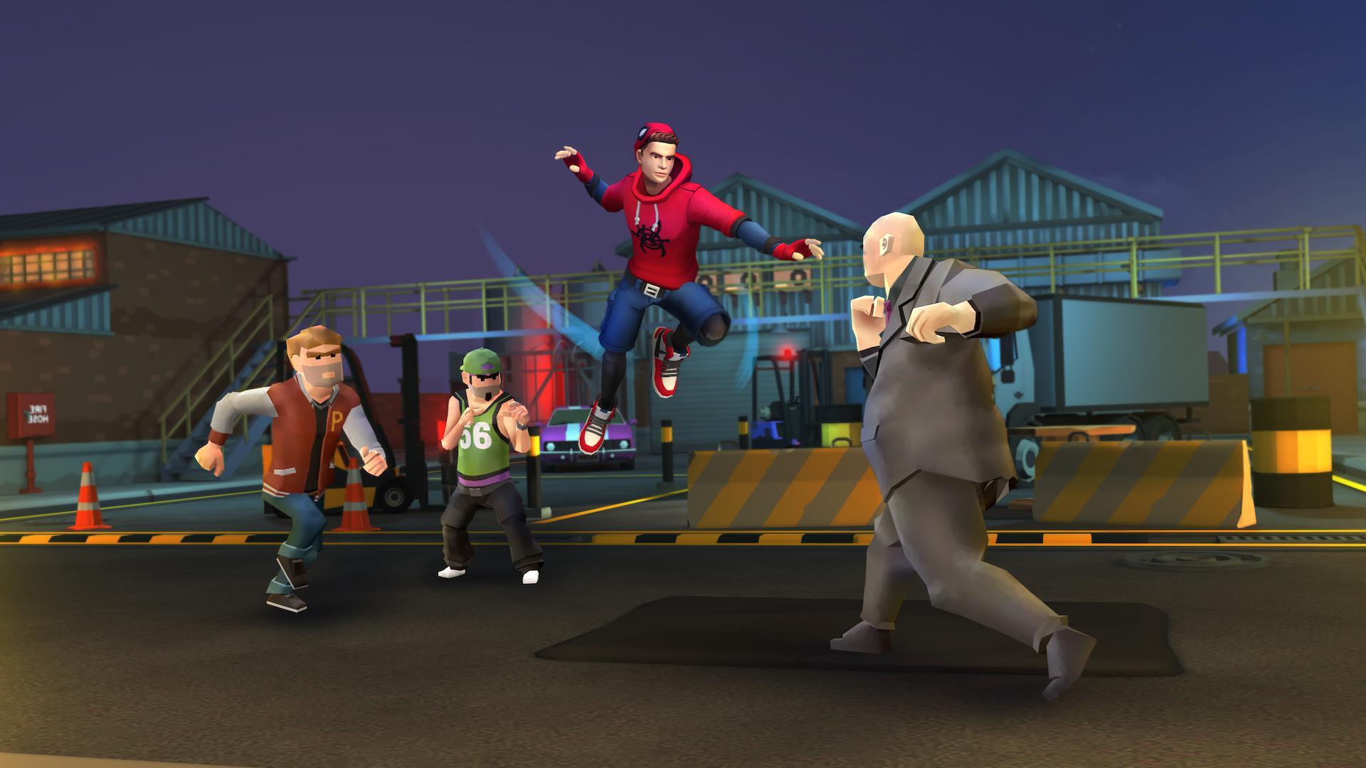 Spider Fighter: Superhero Revenge 游戏截图3