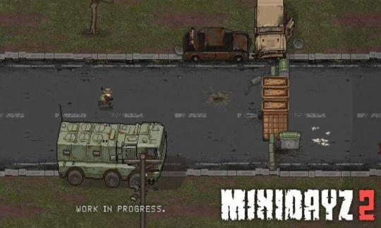 惊险刺激,硬核生存,经典端游移植续作《Mini DayZ 2》 图片1