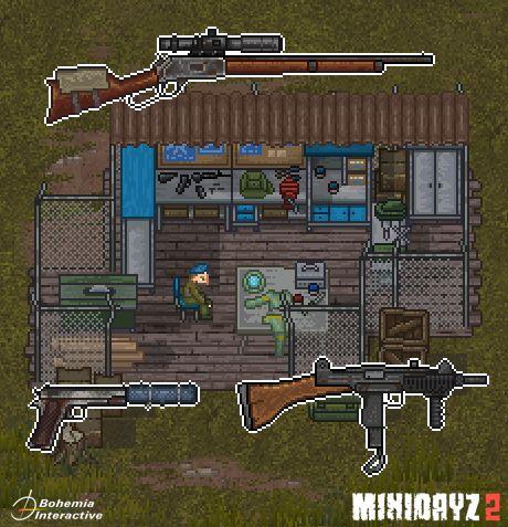 惊险刺激,硬核生存,经典端游移植续作《Mini DayZ 2》 图片4