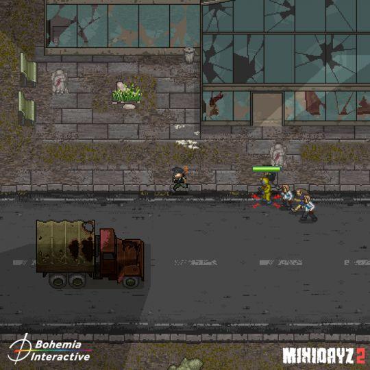 惊险刺激,硬核生存,经典端游移植续作《Mini DayZ 2》 图片8