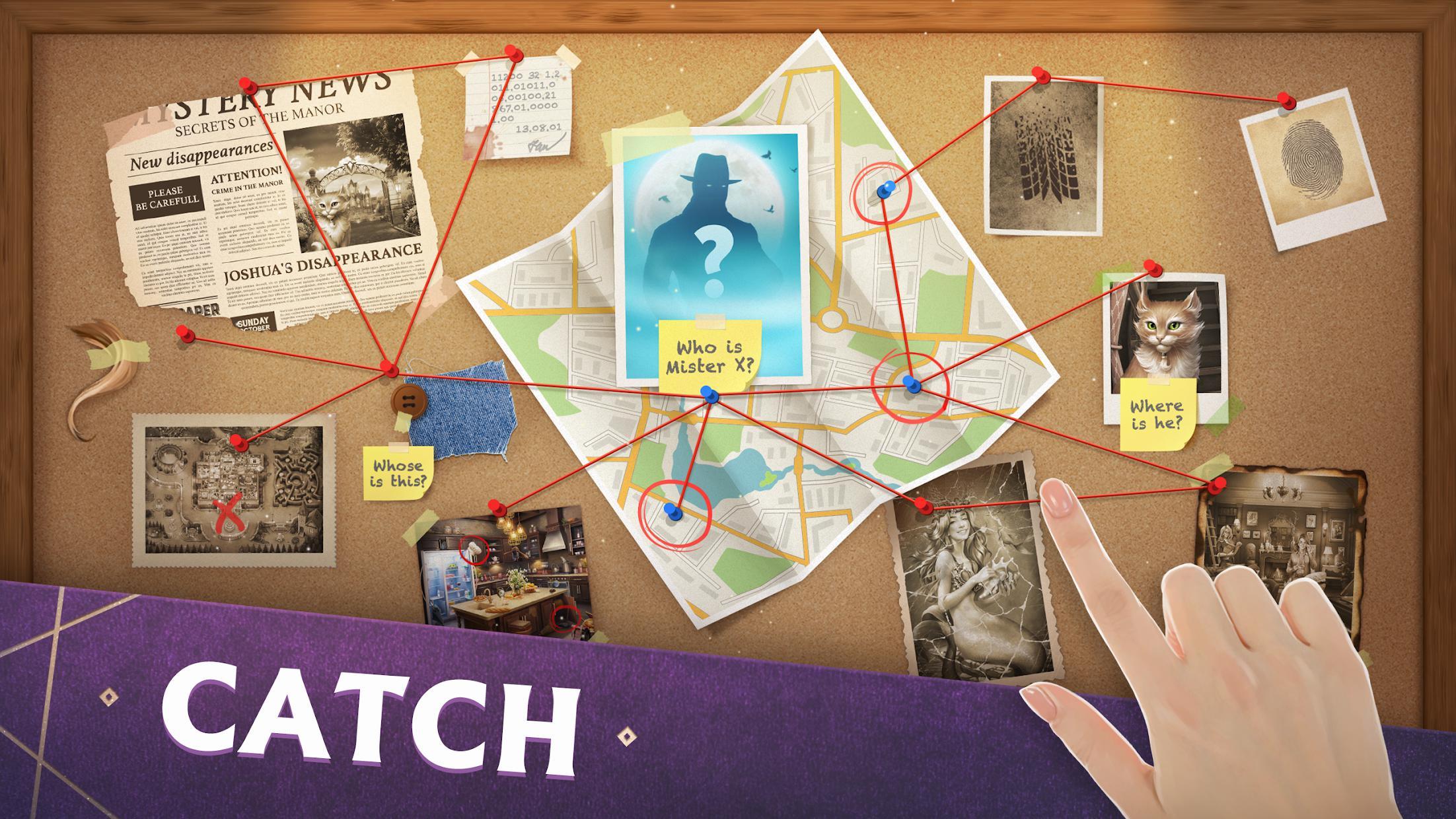 Mystery Manor: hidden objects 游戏截图1
