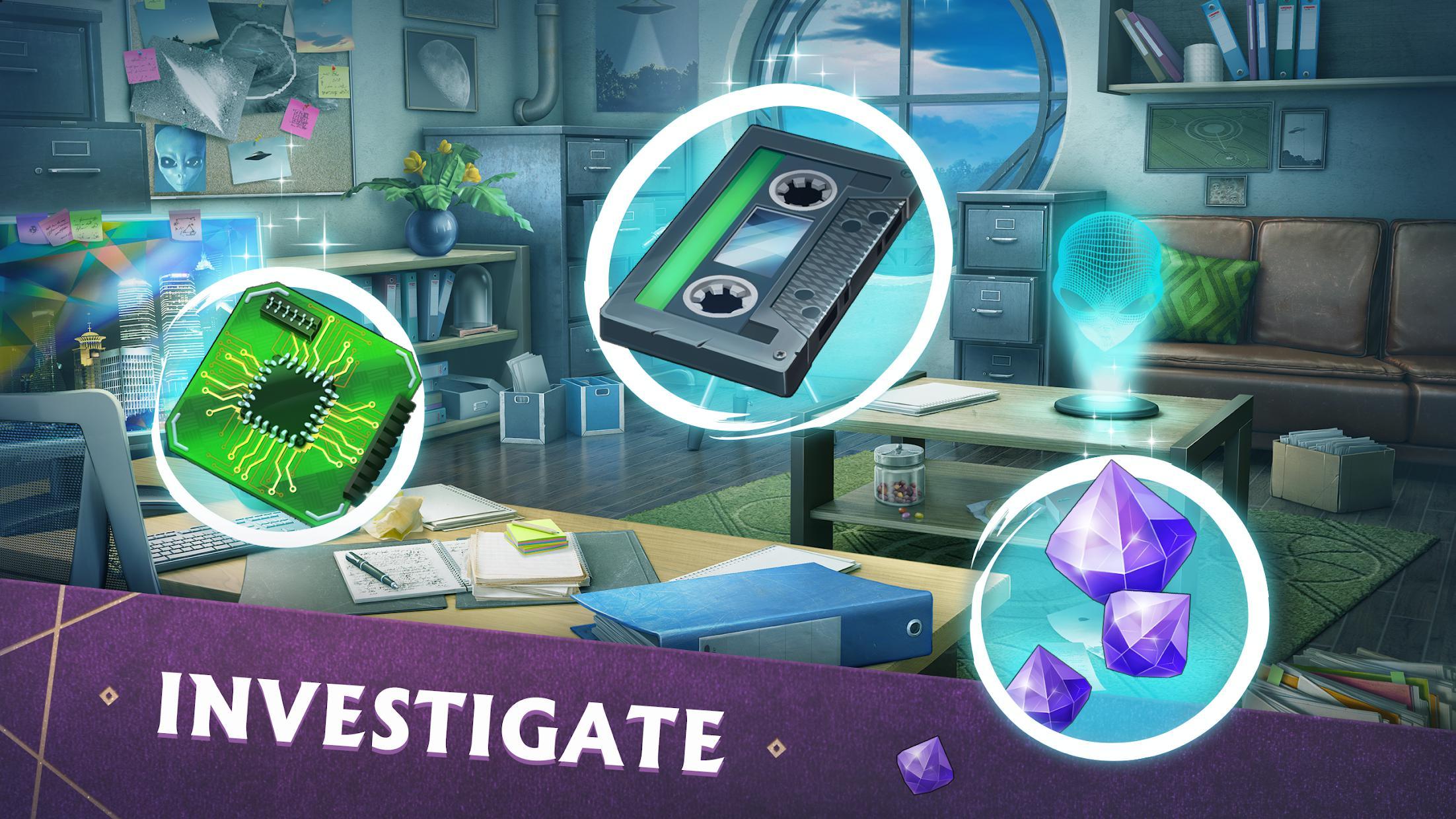 Mystery Manor: hidden objects 游戏截图2