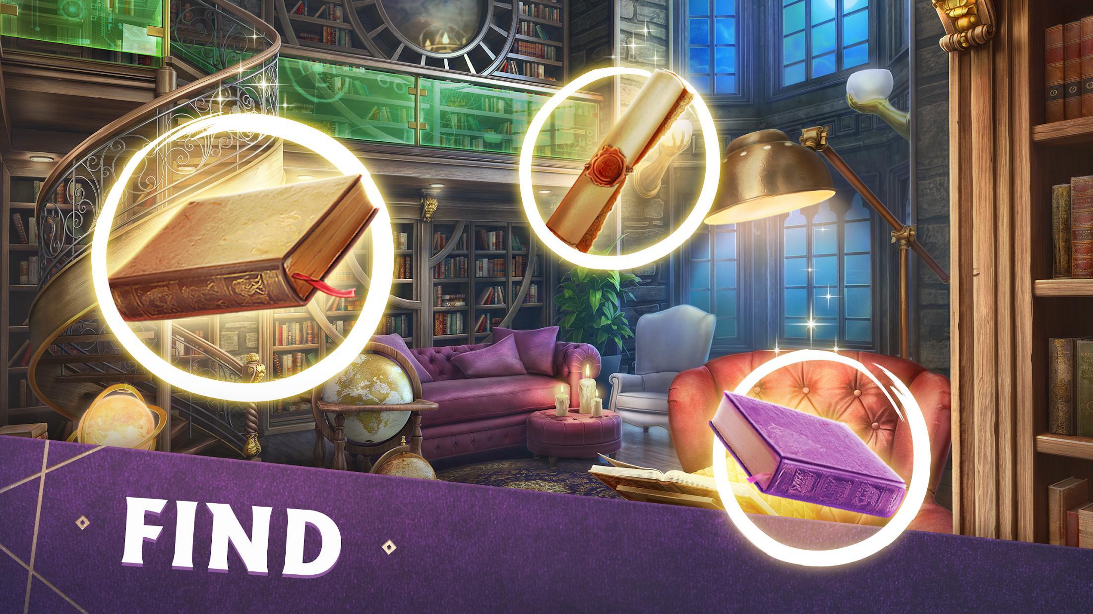 Mystery Manor: hidden objects 游戏截图4