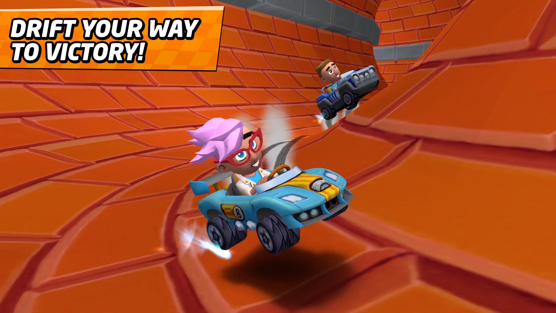 Boom Karts - Multiplayer Kart Racing 游戏截图3