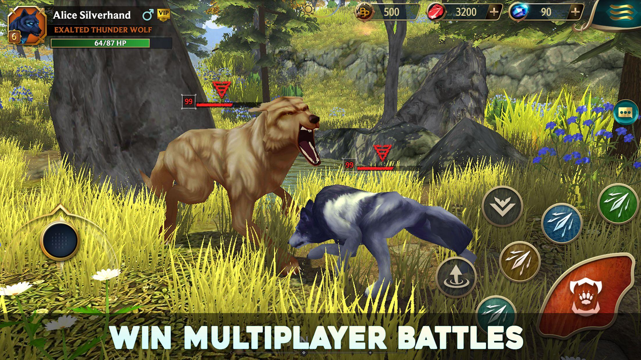 狼传说 - 家园与爱心 游戏截图2