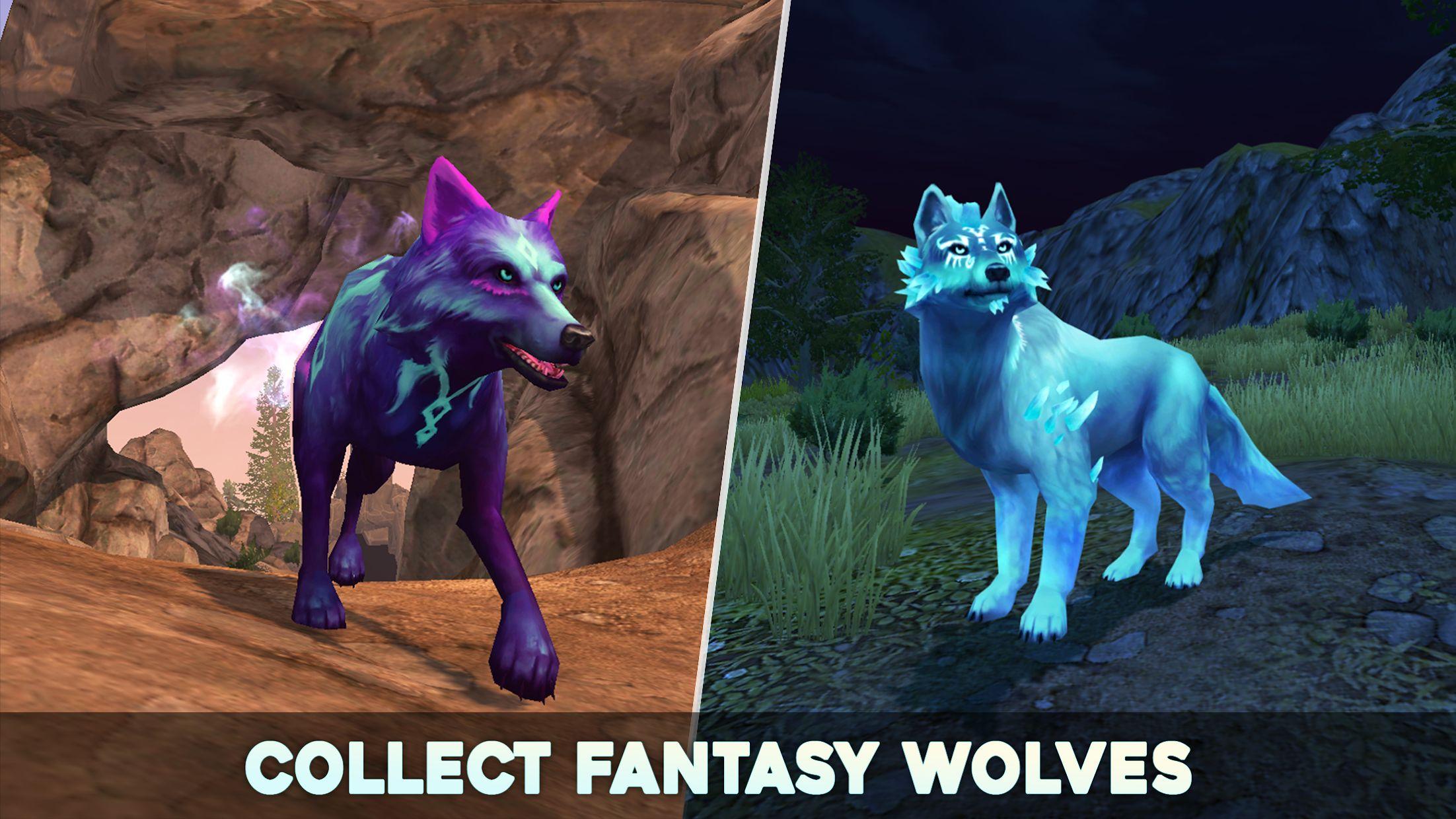 狼传说 - 家园与爱心 游戏截图3