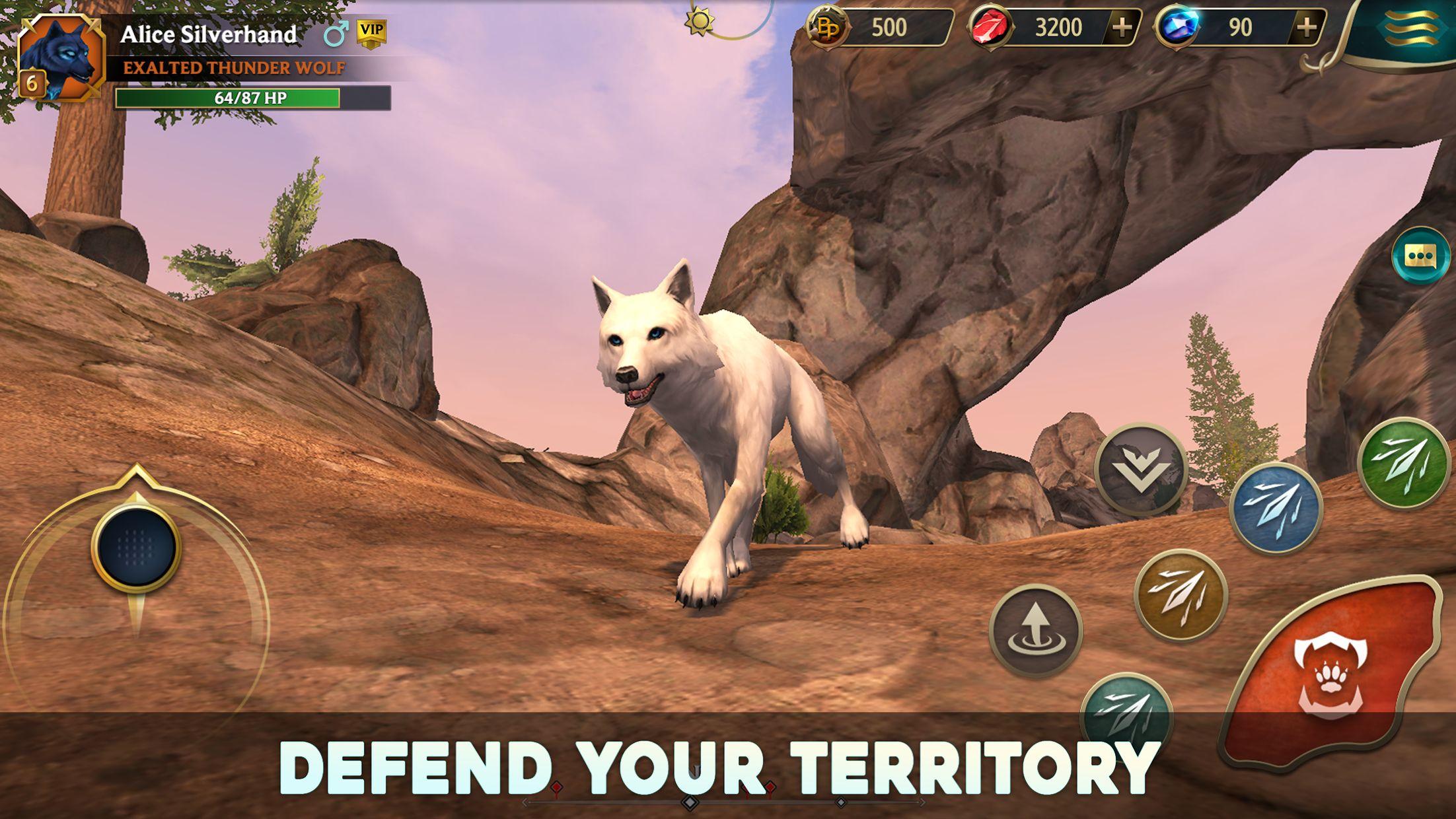 狼传说 - 家园与爱心 游戏截图4