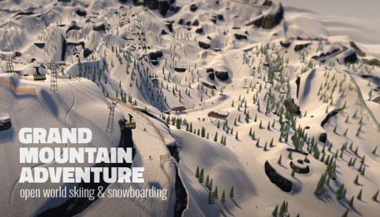开放世界滑雪《高山冒险滑雪》,绝对是今夏必玩的游戏 图片2