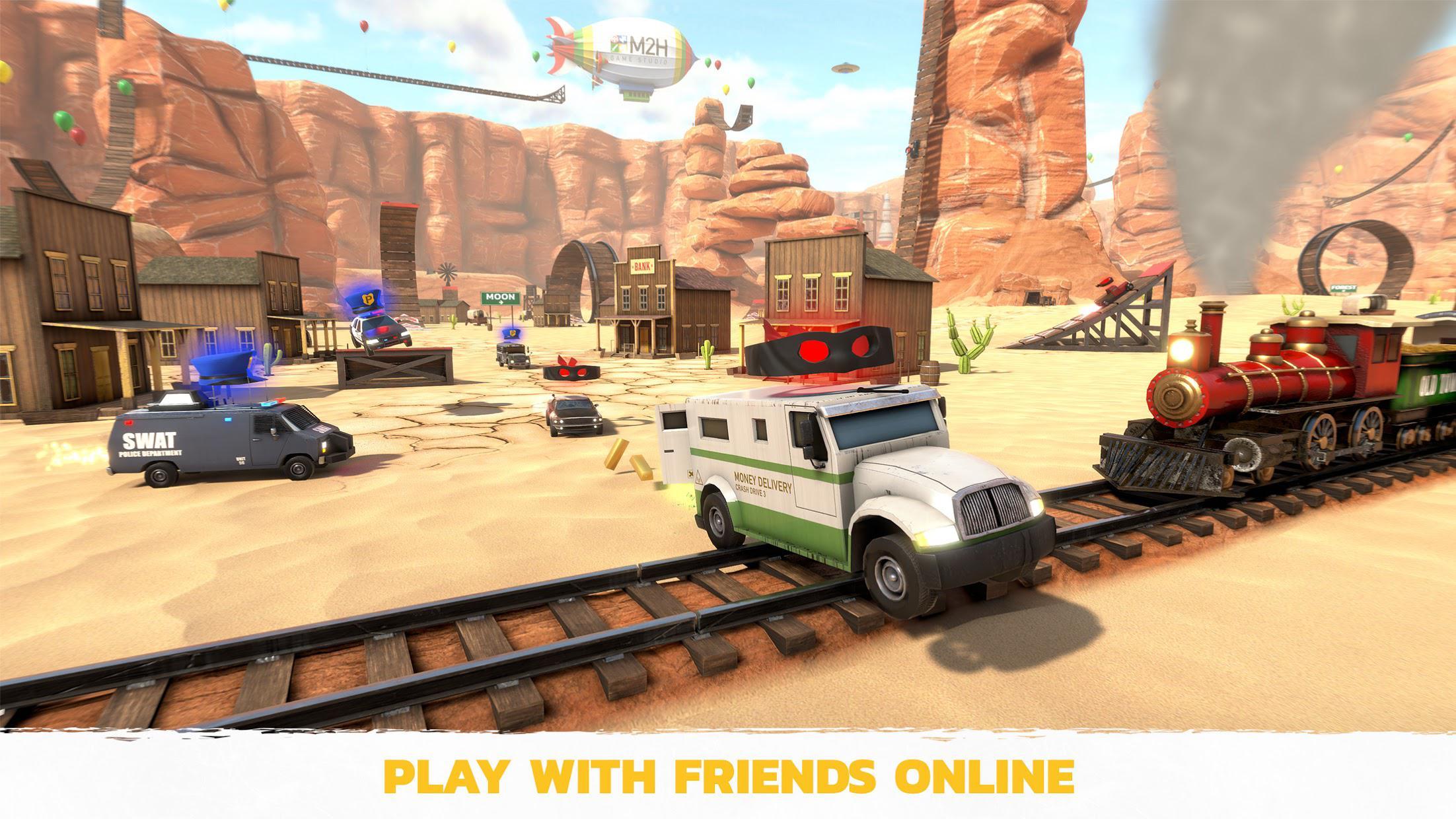 疯狂驾驶3(Crash Drive 3) 游戏截图1