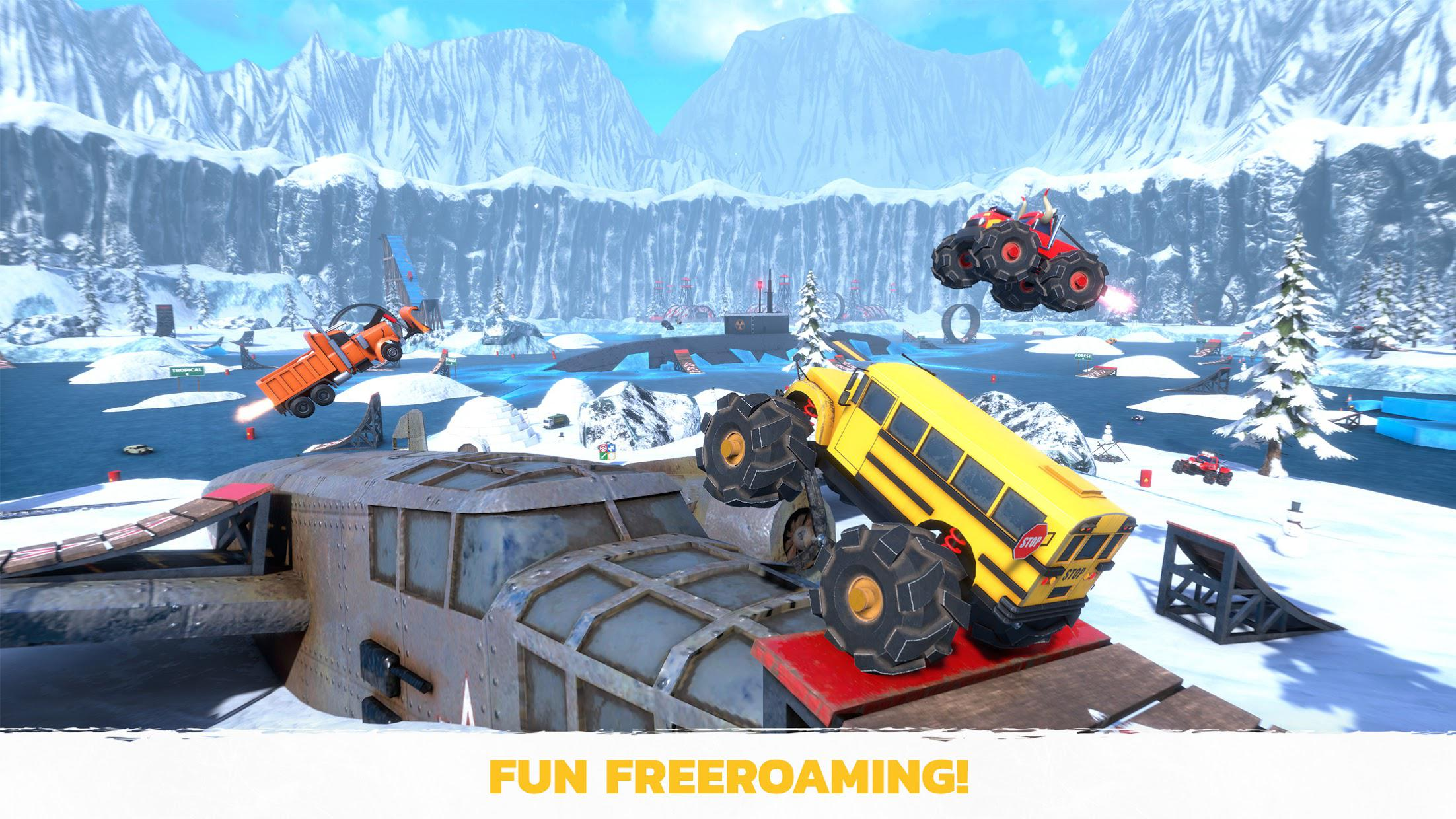 疯狂驾驶3(Crash Drive 3) 游戏截图4