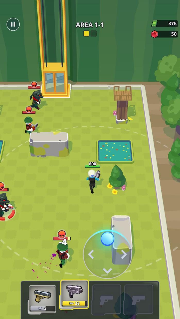 Squad Alpha - Action Shooting 游戏截图1
