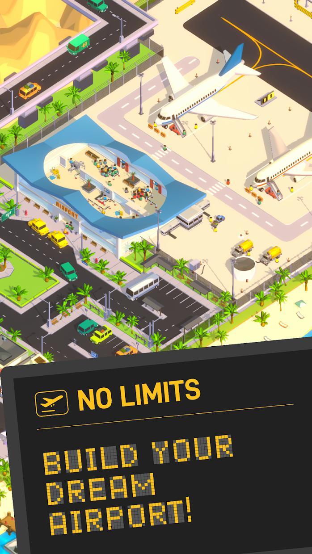 空港大亨(Airport Inc. Idle Tycoon Game) 游戏截图1